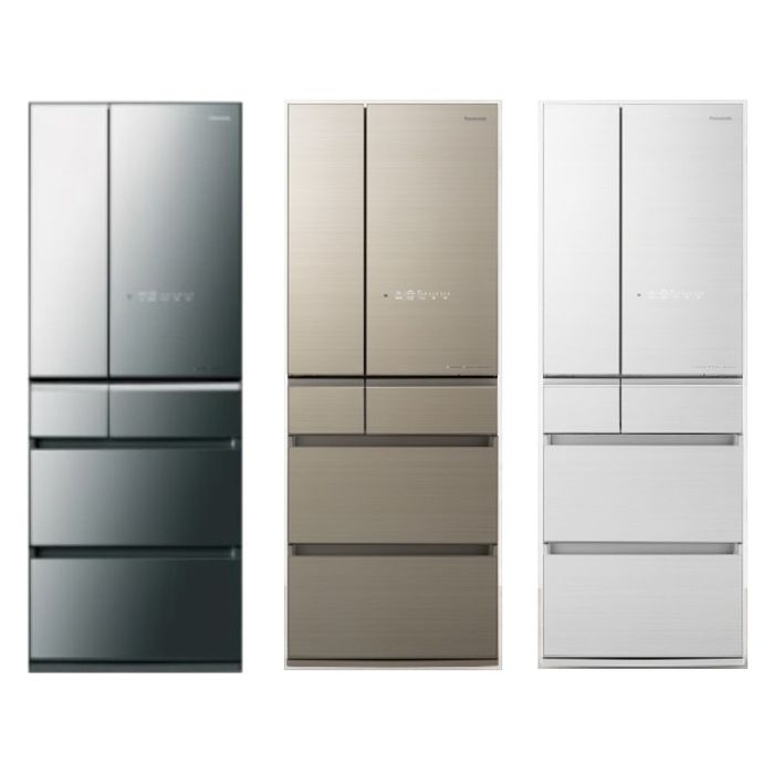 Panasonic國際牌600公升六門變頻冰箱NR-F606HX-W1/NR-F606HX-N1/NR-F606HX-X1(冰箱特賣)