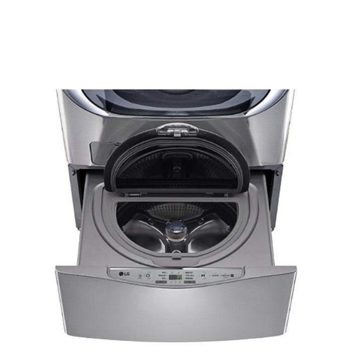 送陶板屋餐券4張★LG樂金不鏽鋼銀色下層2.5公斤溫水洗衣機WT-D250HV