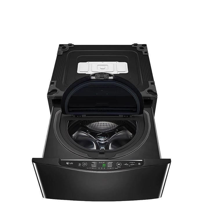 LG樂金2.5公斤溫水下層尊爵黑洗衣機WT-D250HB
