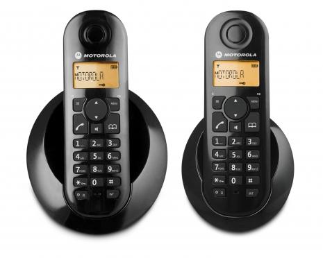 MOTOTROLA 1.8GHz數位雙子機無線電話C-602