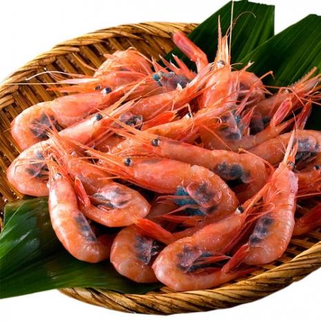 【寶島福利站】日本船凍生食級3L帶殼甜蝦1包(250g/包)任選