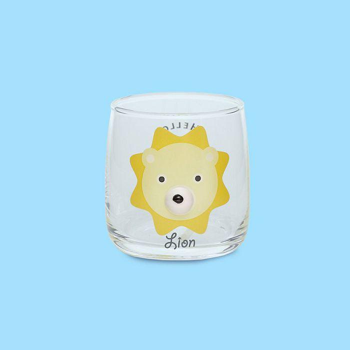 日本 sunart 玻璃杯 - 獅子