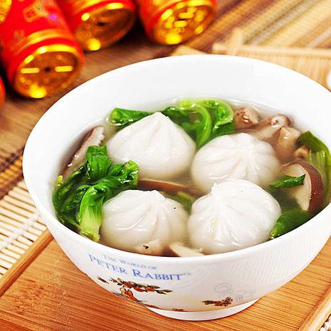 冬至湯圓 樂活e棧 蔬食達人-水晶餃(口味任選)(10顆/盒共5盒)原味水晶餃