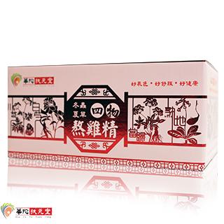 華陀扶元堂-冬蟲夏草四物熬雞精1盒(6瓶/盒)