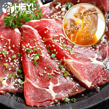 【賀鮮生】頂級安格斯雪花牛腹肉片6盒(500g/盒)