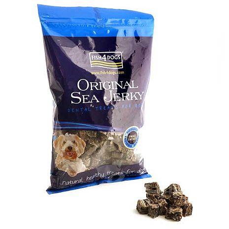 【海洋之星Fish4Dogs】營養潔齒點心─魚皮小丁500g (13mm / 適合小型犬及作為訓練獎賞)