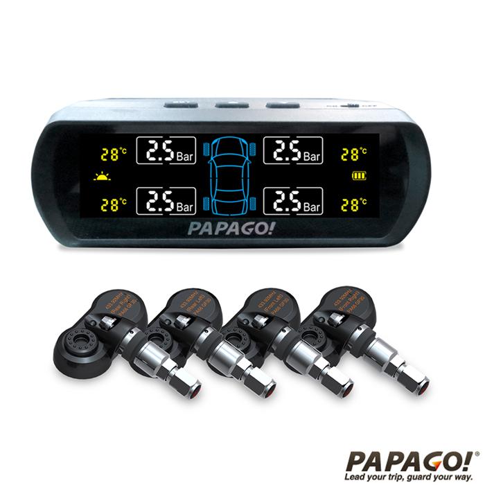 PAPAGO TireSafe S60I無線太陽能胎內式胎壓偵測器