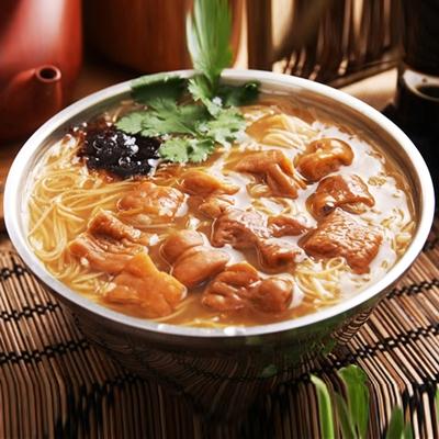 正港台灣味Q嫩豬腸麵線10入 (480g+-10% /包)