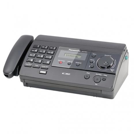 Panasonic國際牌感熱式傳真機KX-FT501經典黑