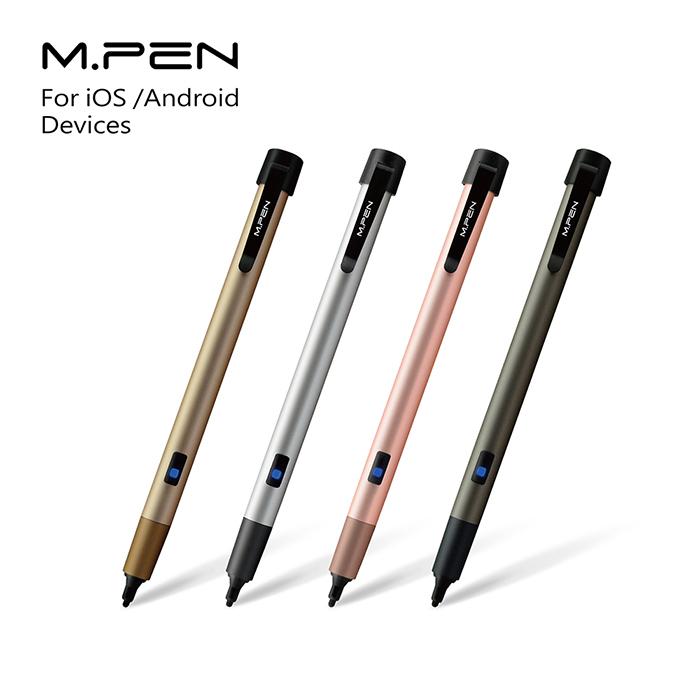 mPen主動式觸控筆M6D21(香檳金)