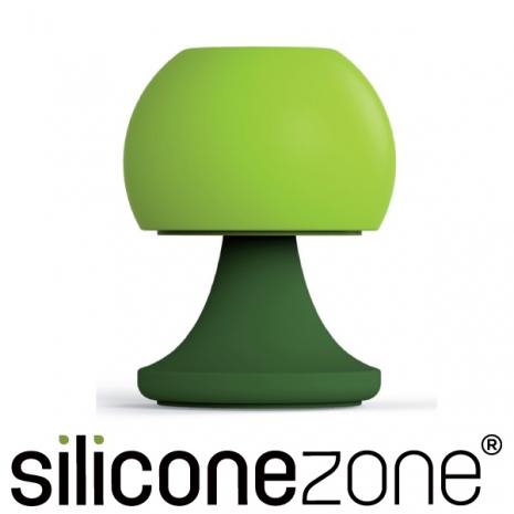 【Siliconezone】可愛檯燈胡椒&鹽罐-綠(KS-11805-AA)