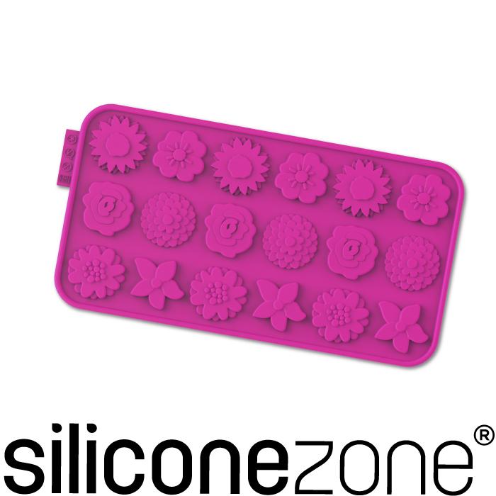 【Siliconezone】施理康耐熱矽膠花草巧克力模