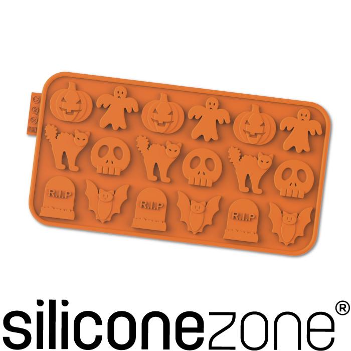 【Siliconezone】施理康耐熱矽膠萬聖節巧克力模