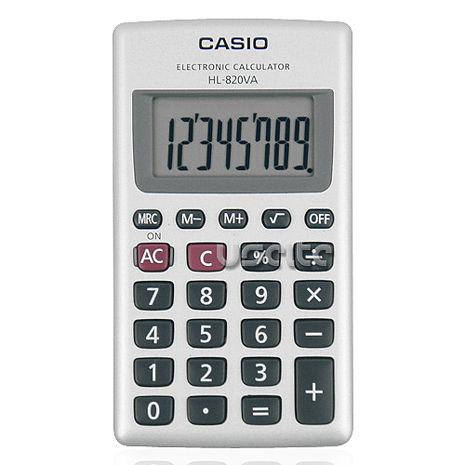 【CASIO】攜帶式8位商用計算機-家電.影音-myfone購物