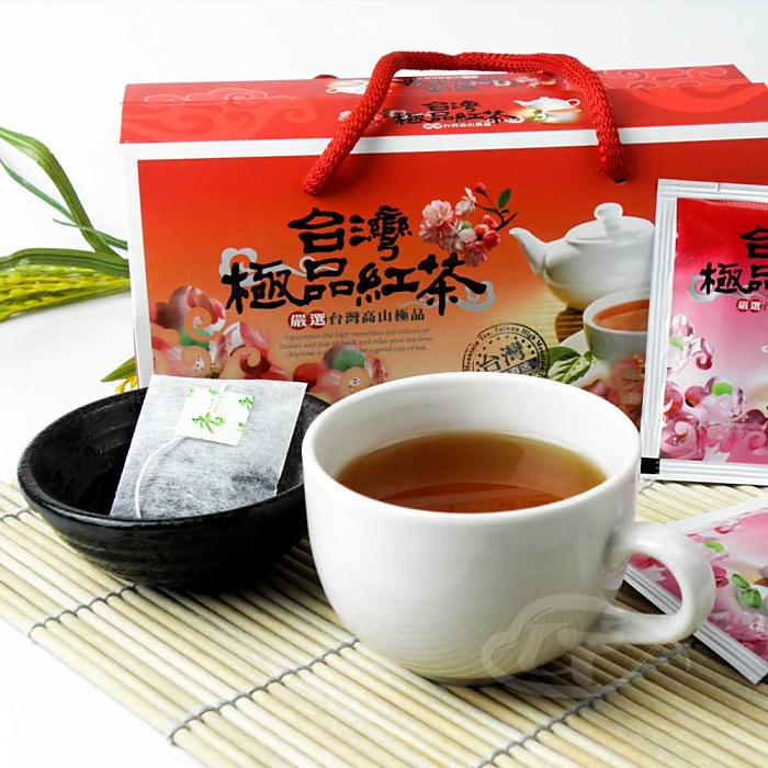 【醒茶莊】台灣極品梨香紅茶袋茶禮盒1盒-戶外.婦幼.食品保健-myfone購物