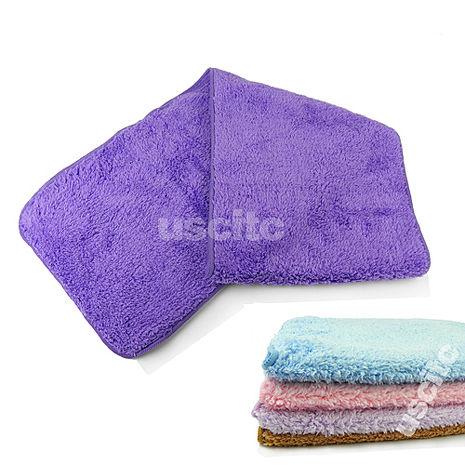【神布開纖紗系列】輕柔開纖紗運動巾2入藍色