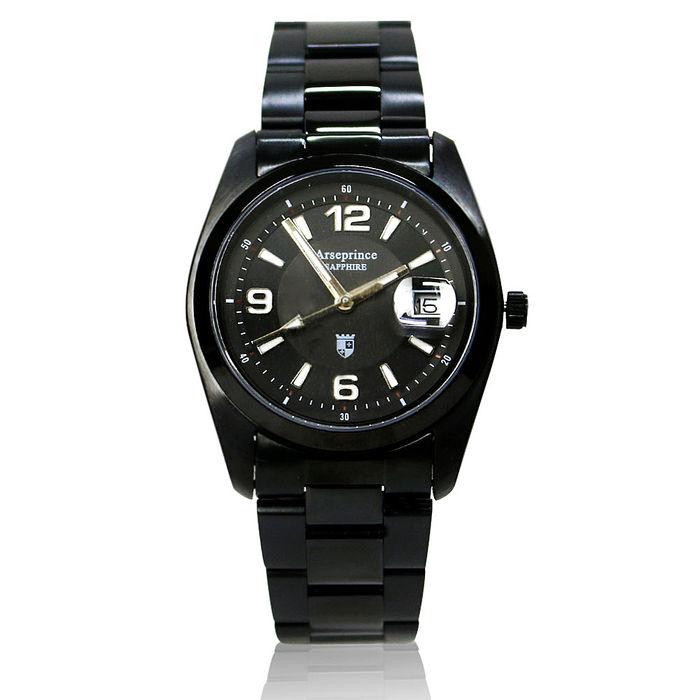 【Arseprince】天際指向電能飛行腕錶-黑色