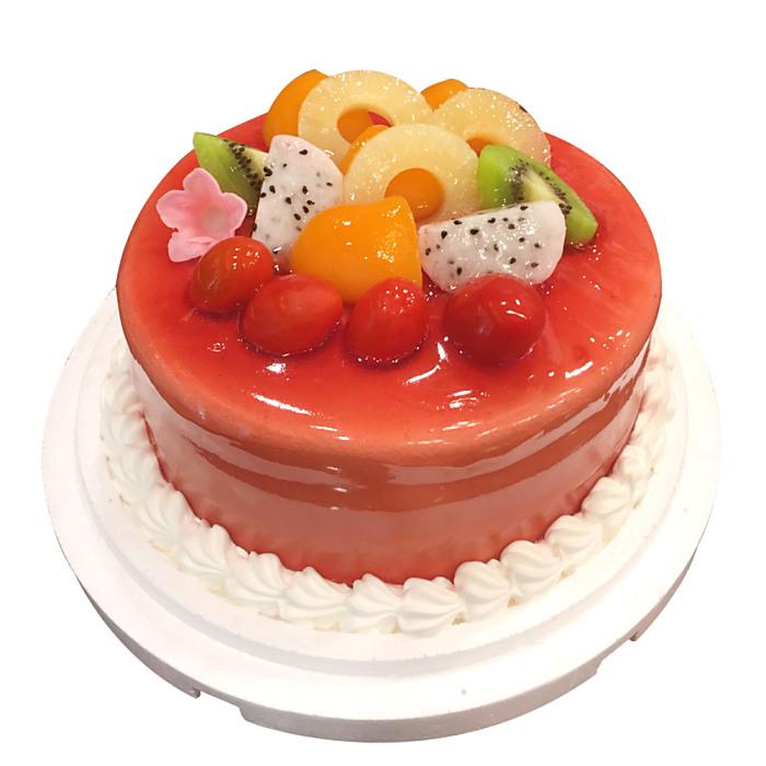 現貨+預購【台灣鑫鮮】酸甜草莓淋面蛋糕5吋3日內出貨