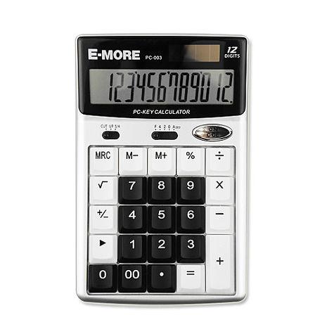 【E-MORE】電腦鍵盤按鍵計算機-黑 PC-003