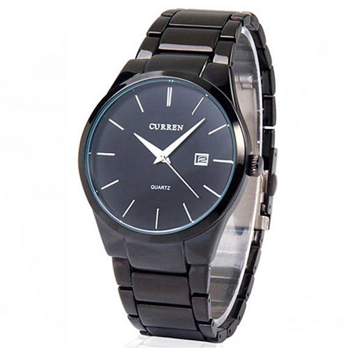 【CURREN】男士精密石英腕錶