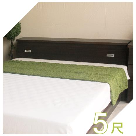 【YUDA】促銷款  5尺標準雙人床頭箱 (非床頭片/床頭櫃)4色可選 新竹以北免運費-居家日用.傢俱寢具-myfone購物