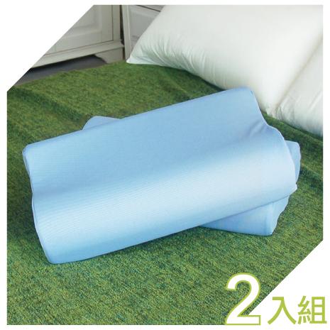 【YUDA】低枕 麥摩瑞 備長炭記憶枕《二入組》枕心/枕頭/人體工學枕/高級枕/ 台灣製造