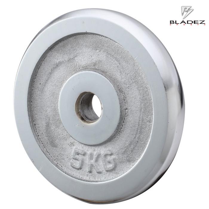 【BLADEZ】電鍍槓片 5KG(一入)