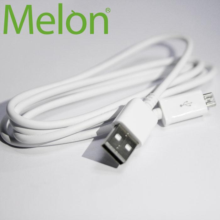 【MELON】急速快充 MicroUSB 純白體驗 充電 傳輸線 BA-038-手機平板配件-myfone購物