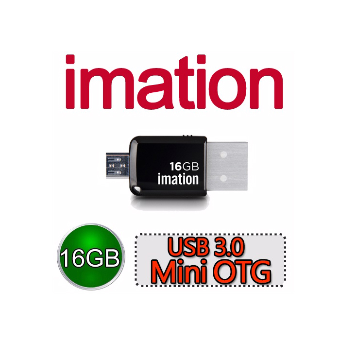 Imation USB 3.0 Mini OTG 16G【特賣】