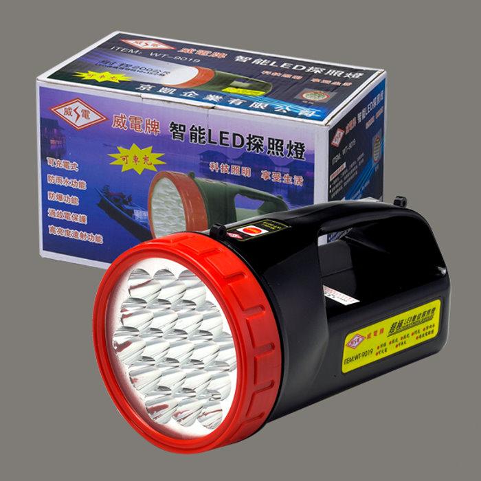 【威電WEITIEN】19 LED數位強力探照燈 - WT-9019