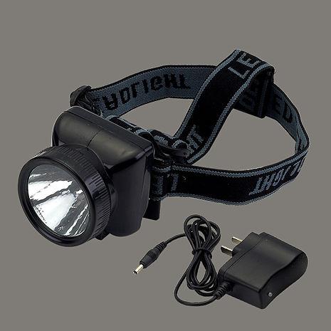 【威電WEITIEN】充電式LED頭燈 - LE-0911