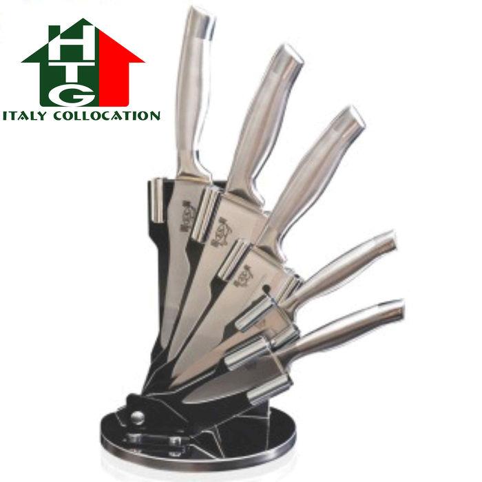 【固鋼HTG】一體成型醫療級不鏽鋼刀六件組(刀具6件組)-預購