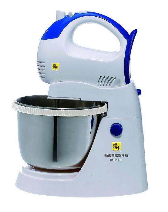 【鍋寶】手持/立式兩用美食打麵器攪拌機HA-3266-D