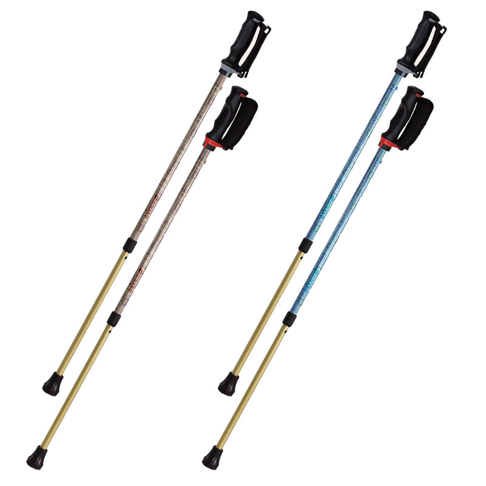 【樂齡網】日本製【SINANO】安心健走杖(一組2入)