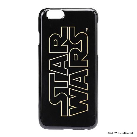 iJacket 迪士尼 iPhone 6/6s 4.7吋 星際大戰復古 金箔系列 硬式保護殼 - Logo