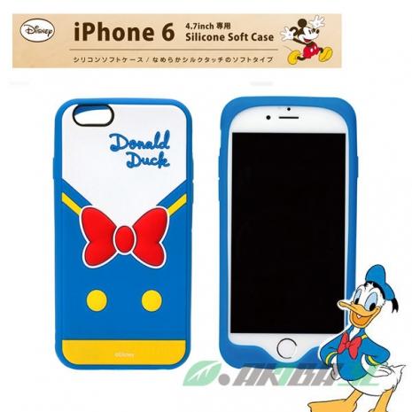 iJacket iPhone 6/6s 4.7 迪士尼 Disney 軟式矽膠 保護套 手機殼 - 唐老鴨