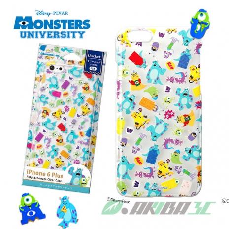 iJacket 迪士尼 iPhone 6 Plus 5.5吋 透明硬式保護殼 - 怪獸大學