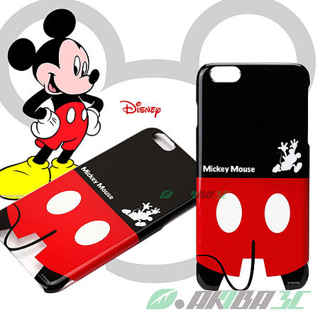 iJacket 迪士尼 iPhone 6 / 6s Plus 5.5吋 屁屁系列 硬式手機保護殼 - 米奇
