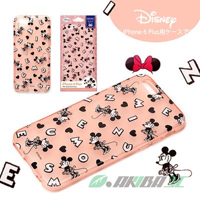 iJacket 迪士尼 iPhone 6 / 6s Plus 5.5吋 半透明系列 軟式手機保護套 - 米妮