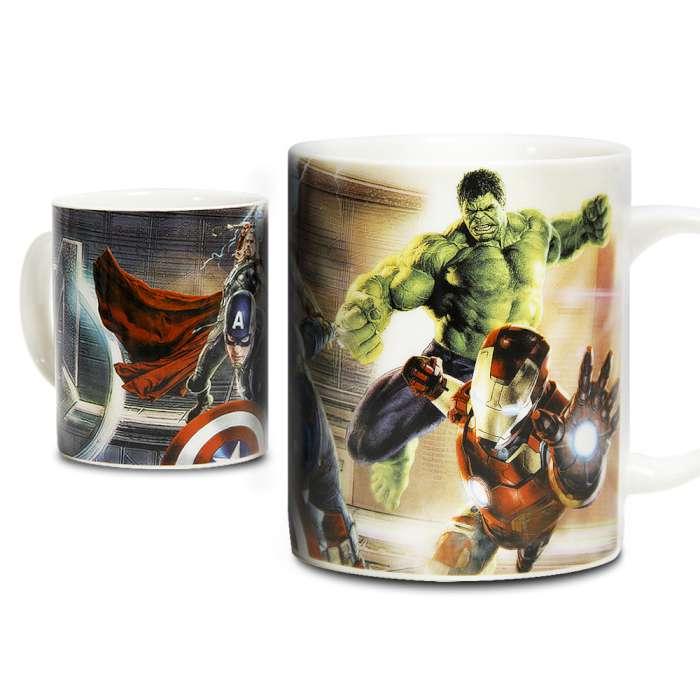 Marvel 授權 復仇者聯盟2:奧創紀元 英雄馬克杯 戰鬥款