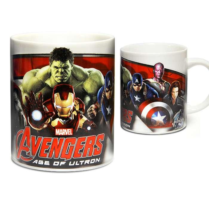Marvel 授權 復仇者聯盟2:奧創紀元 英雄馬克杯 大集合款