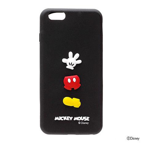 iJacket 迪士尼 iPhone 6 / 6s Plus 5.5吋 立體造型系列 軟式保護套 - 米奇