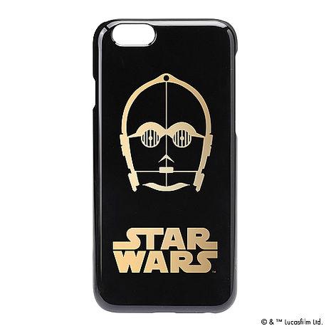 iJacket 迪士尼 iPhone 6/6s 4.7吋 星際大戰復古 金箔系列 硬式保護殼 - C3PO