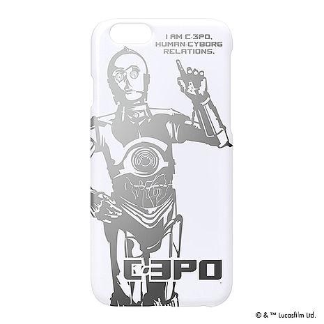 iJacket 迪士尼 iPhone 6/6s 4.7吋 星際大戰復古 銀箔系列 硬式保護殼 - C3PO