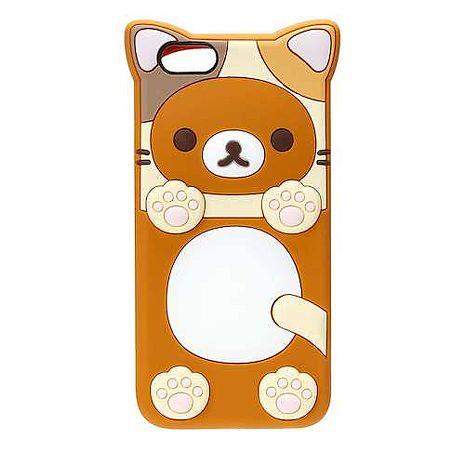 iJacket San-x iPhone 6/6s 4.7吋 貓系列 立體造型矽膠軟式保護殼 - 拉拉熊