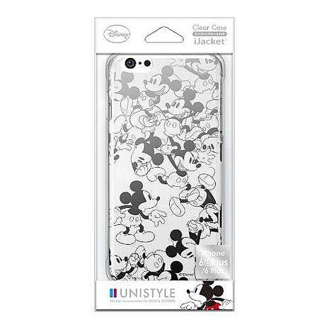iJacket 迪士尼 iPhone 6 / 6s Plus 5.5吋 銀箔 透明硬式保護殼 - 米奇跑跑