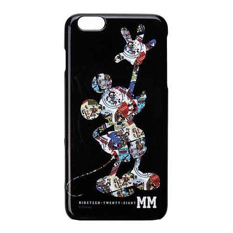 iJacket 迪士尼 iPhone 6 / 6s Plus 5.5吋 銀箔 透明硬式保護殼 - 米奇印花
