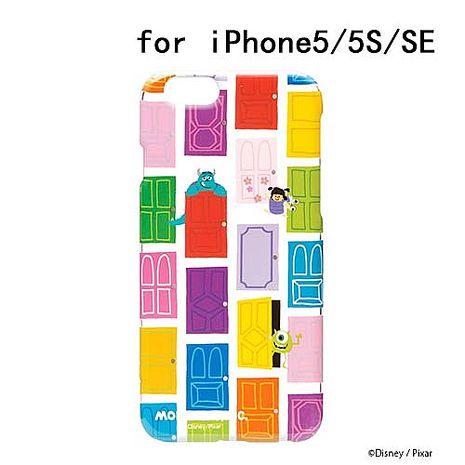 iJacket 迪士尼 iPhone SE/5/5s 彩繪 透明硬式保護殼 - 怪獸大學