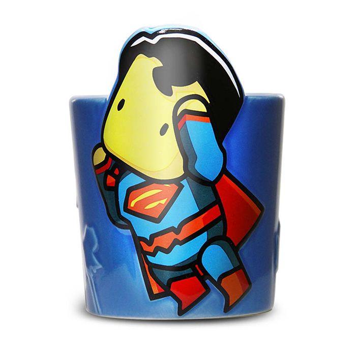 DC 授權 蝙蝠俠對超人 英雄馬克杯 - 超人