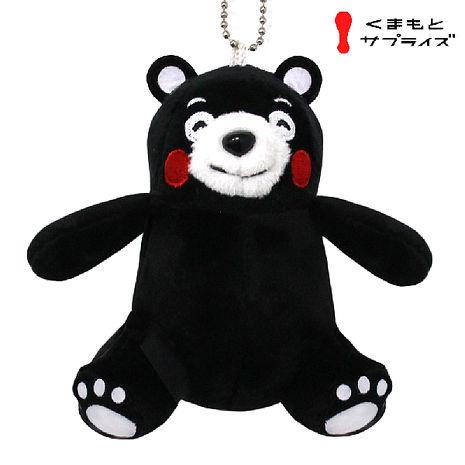 熊本熊 絨毛布偶吊飾 酷MA萌 Kumamon